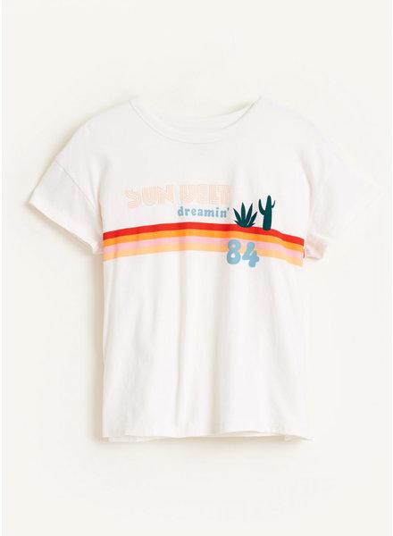 Bellerose ayoa tshirts - vintage white