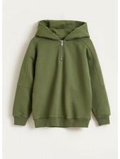 Bellerose biekon sweatshirts - army