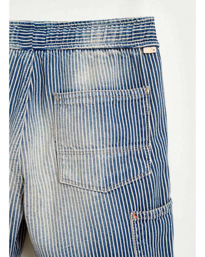 Bellerose printer shorts - stripe b