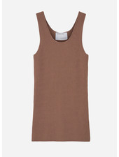 Designer Remix Girls mandy top - taupe