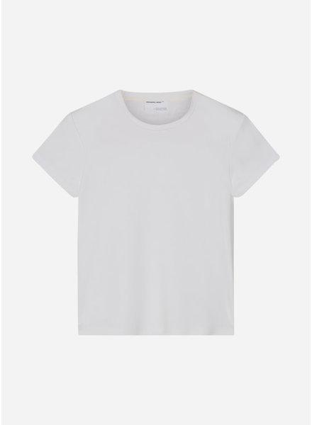 Designer Remix Girls modena tee - white