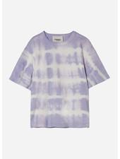 Finger in the nose queen tie & dye short sleeves tshirt - milky lavender