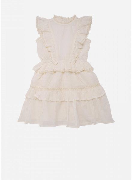 The New Society antonia dress off white