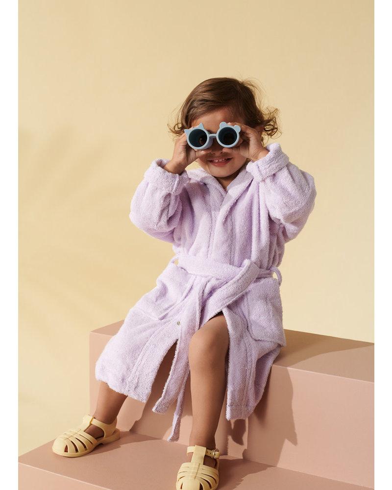 Liewood lily bathrobe cat light lavender