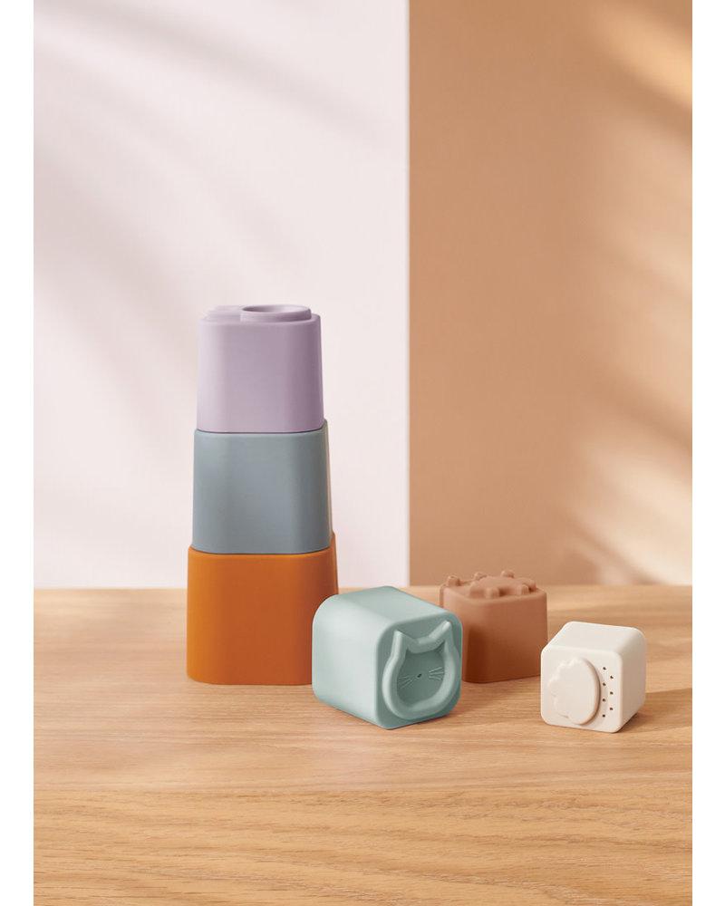 Liewood zuzu stacking cups multi mix