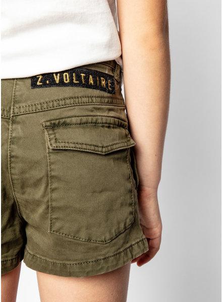 Zadig & Voltaire short kaki