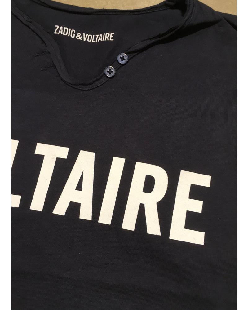 Zadig & Voltaire t-shirt korte mouwen marine