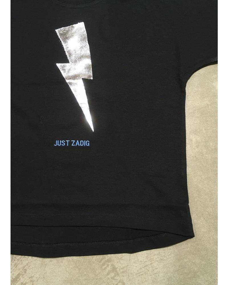 Zadig & Voltaire t-shirt korte mouwen zwart