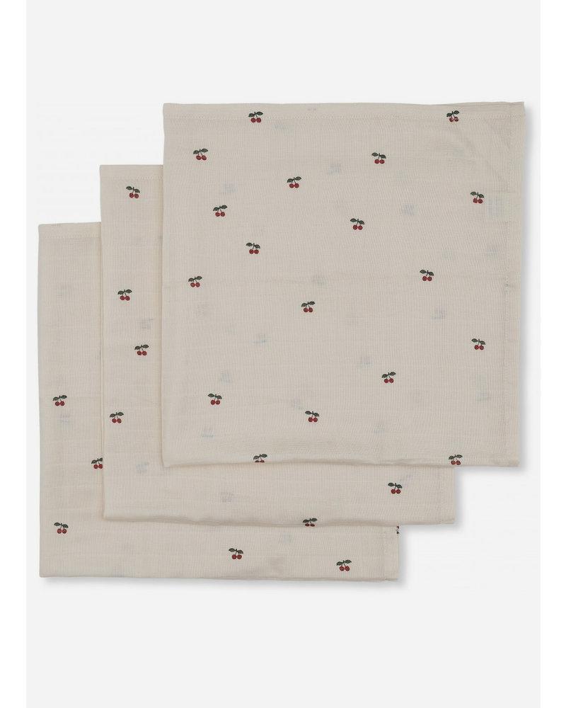 Konges Slojd 3pack museline cloths