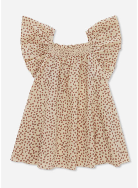 Konges Slojd pilou strap dress buttercup rosa