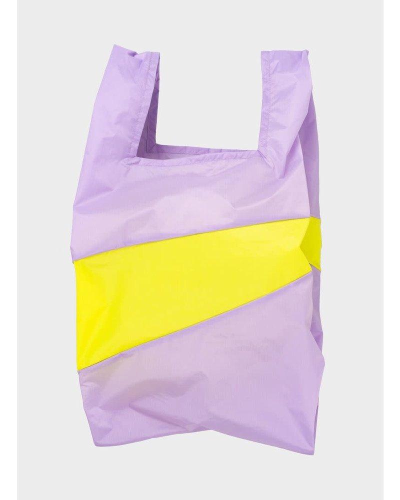 Susan Bijl shopping bag idea & fluo yellow