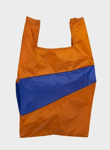 Susan Bijl shopping bag sample & electric blue