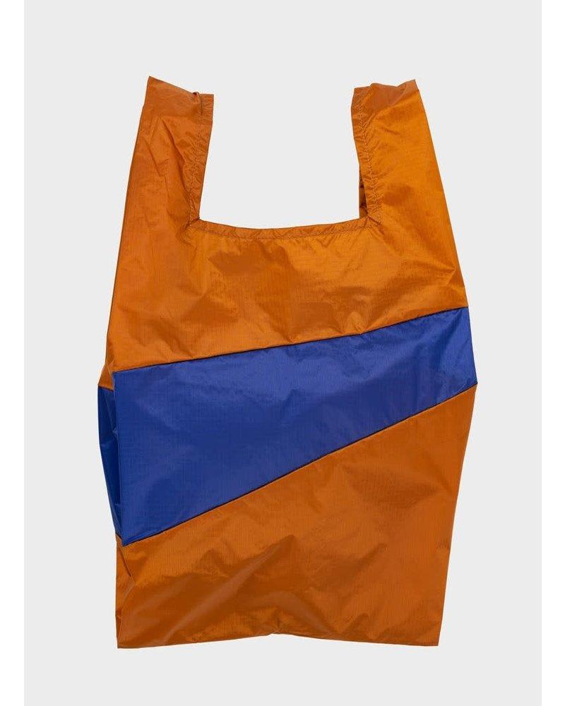 Susan Bijl shopping bag sample & electric blue