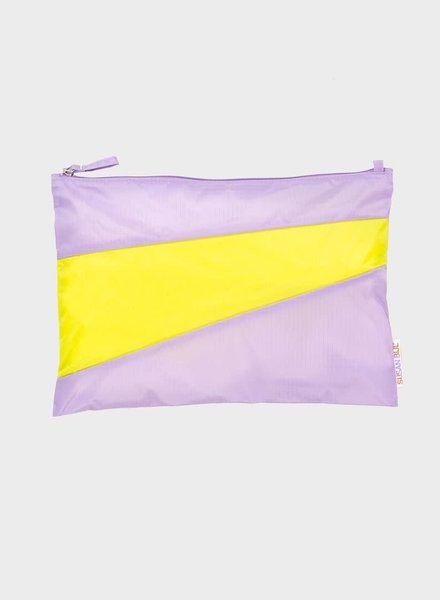 Susan Bijl pouch idea & fluo yellow