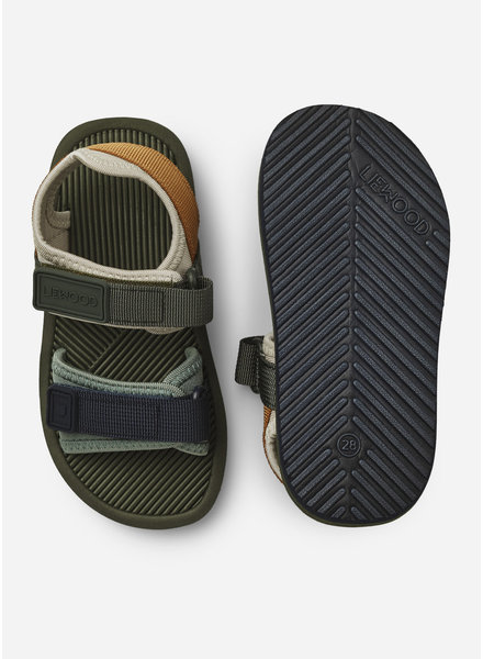 Liewood monty sandals hunter green mix