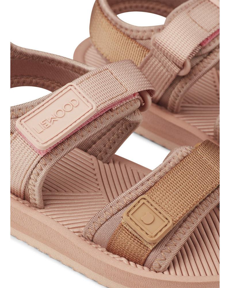 Liewood monty sandals rose mix