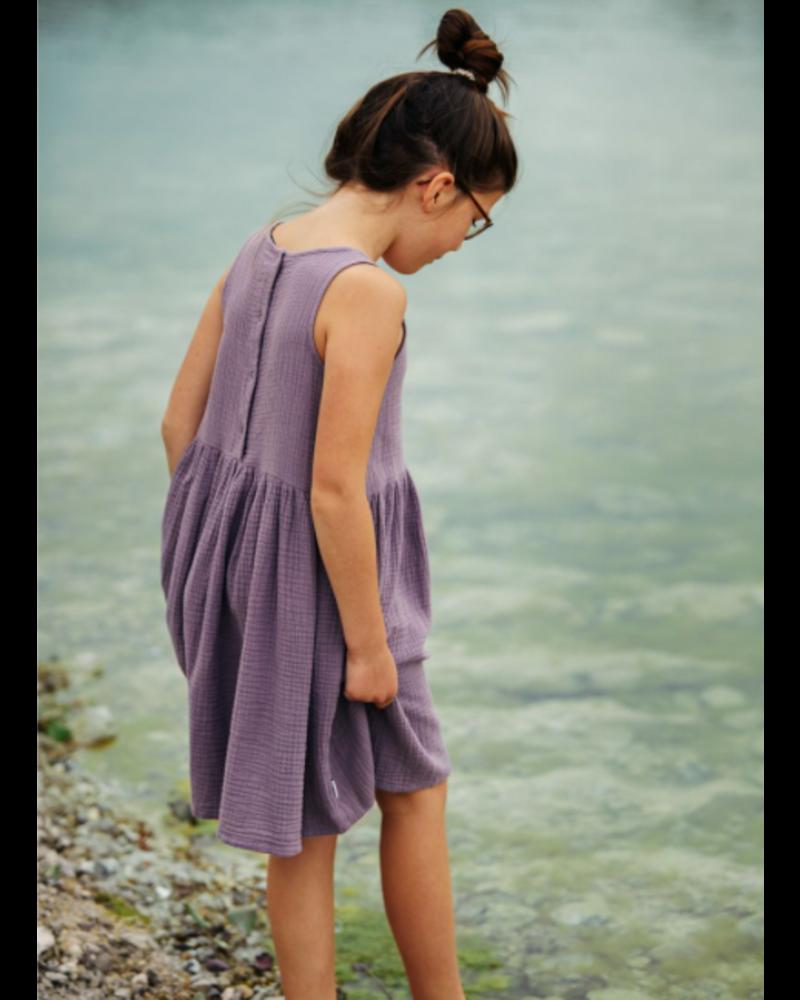 Mingo dress sleeveless - lavender
