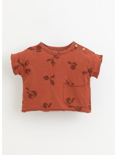Play Up printed jersey tshirt - farm - 1AI11057 - E365R