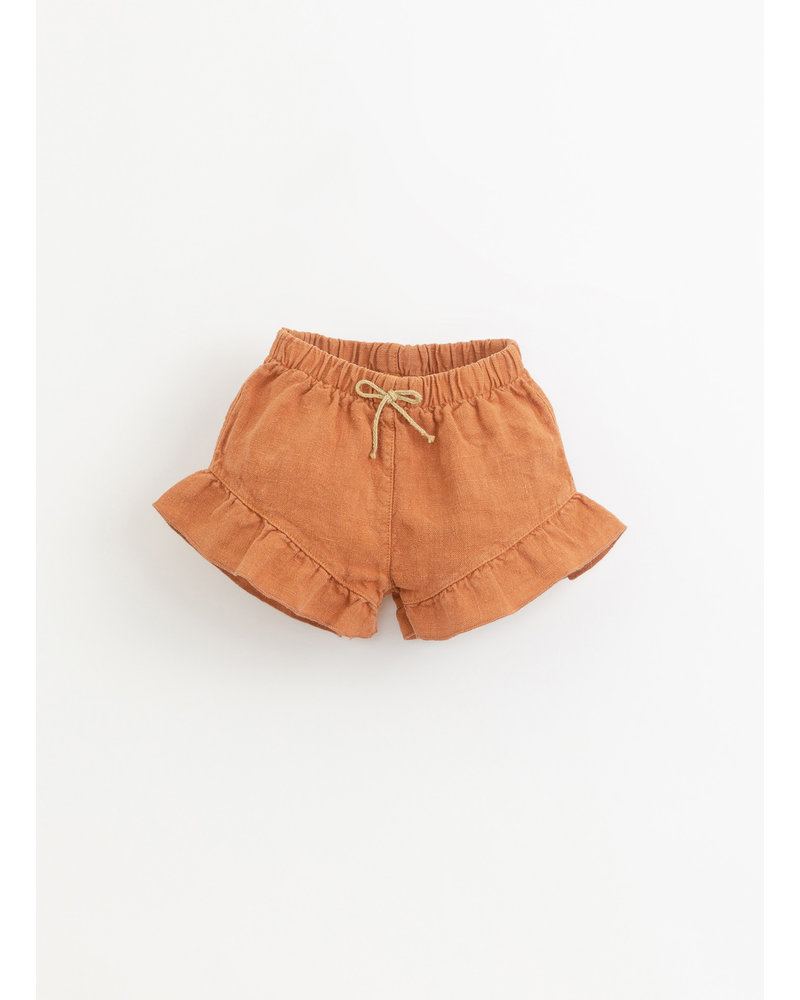 Play Up linen shorts - raquel - 2AI11702 - P4116