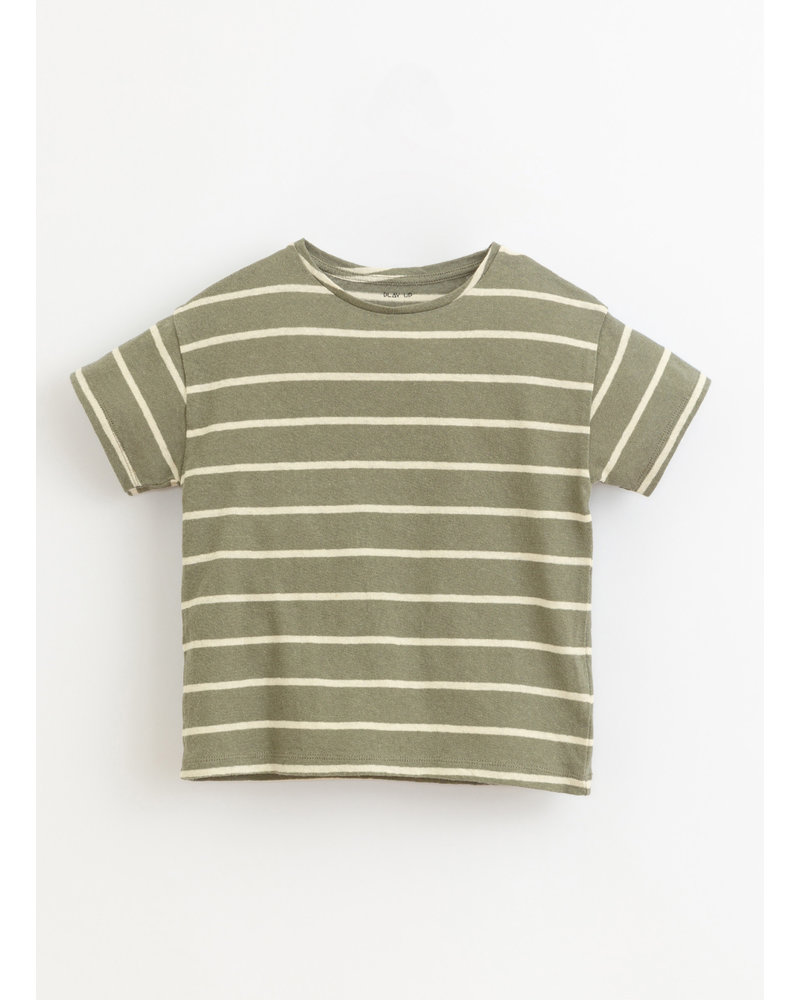 Play Up striped jersey tshirt - cocoon - 3AI11055 - R254G