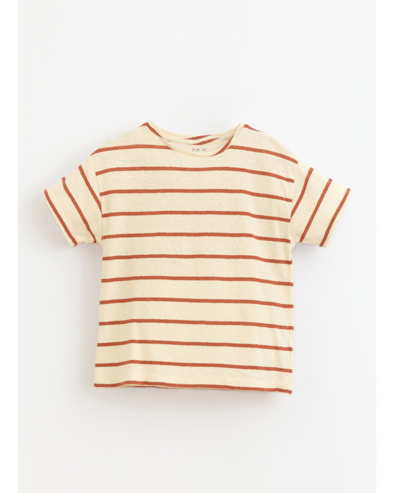 Play Up striped jersey tshirt - farm - 3AI11054 - R253R