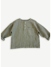 Play Up linen shirt - cocoon - 3AI11250 - P7155