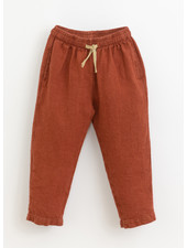 Play Up linen trousers - farm - 3AI11601 - P4117