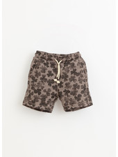 Play Up printed flame jersey shorts - heidi - 3AI11700 - E392G