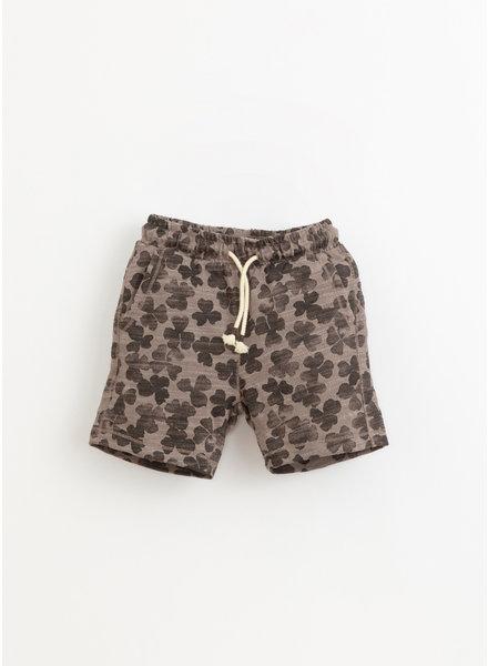 Play Up printed flame jersey shorts - heidi - 3AI11700 - E392G