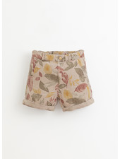 Play Up printed linen shorts - bicho - 3AI11707 - E375B