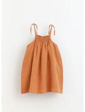 Play Up linen dress - raquel - 4AI11454 - P4116