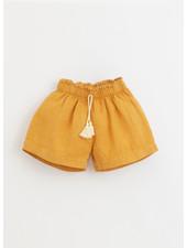 Play Up linen shorts - sunflower - 4AI11701 - P1078