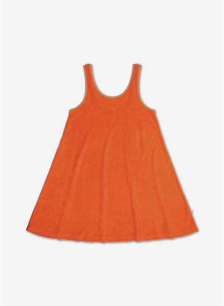 Repose sunny dress orange red