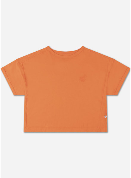 Repose boxy tee orange red