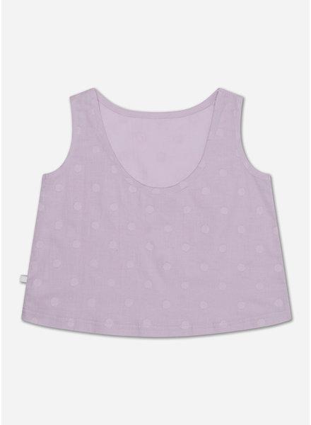 Repose a line top lilac