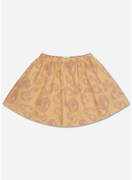 Repose mini skirt woven pinkish sandy curl