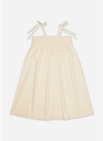 Repose balloon dress vintage white