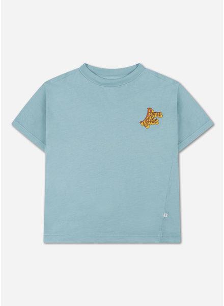 Repose tee shirt lake blue