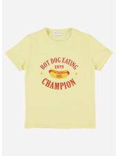 Simple Kids hotdog jersey yellow