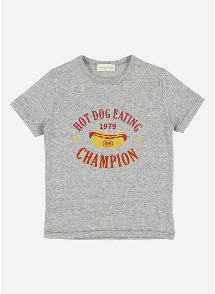 Simple Kids hotdog jersey flanelle