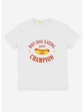 Simple Kids hotdog jersey white