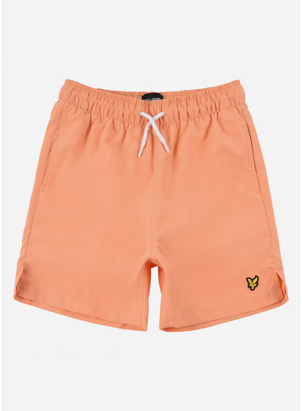 Lyle & Scott classic swim shorts pumpkin