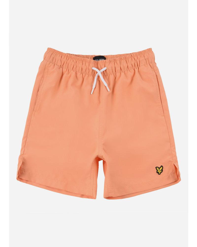 Lyle & Scott classic swim shorts pumpkin