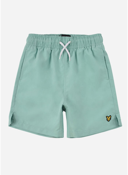 Lyle & Scott classic swim shorts neptune green