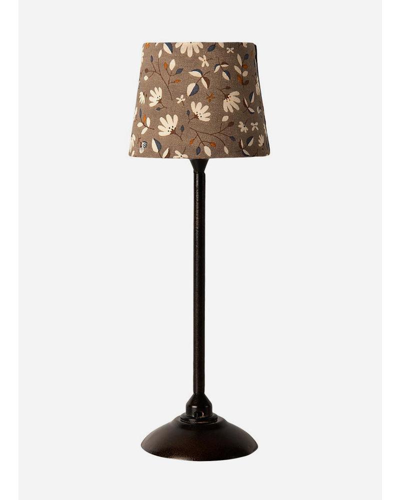 Maileg miniature floor lamp anthracite