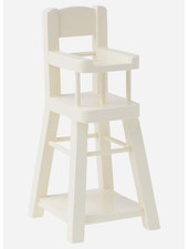 Maileg high chair micro white