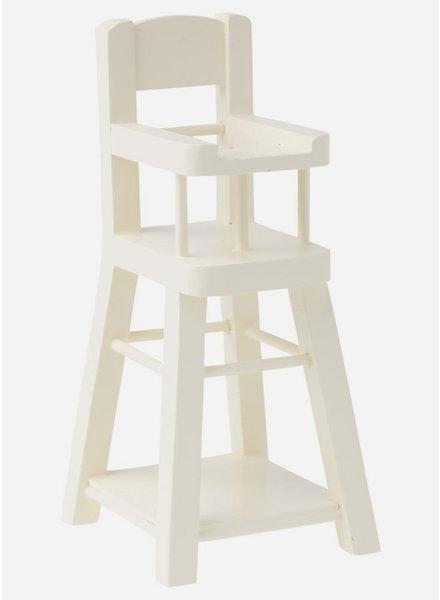 Maileg high chair micro white