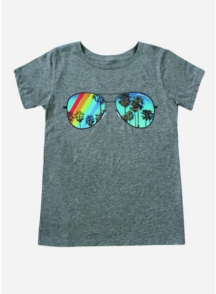 Californian Vintage shirt sunglasses heather grey