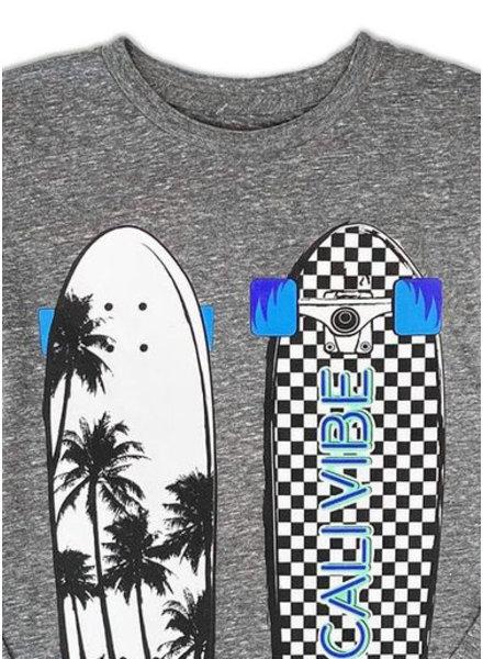 Californian Vintage shirt calivibes heather grey