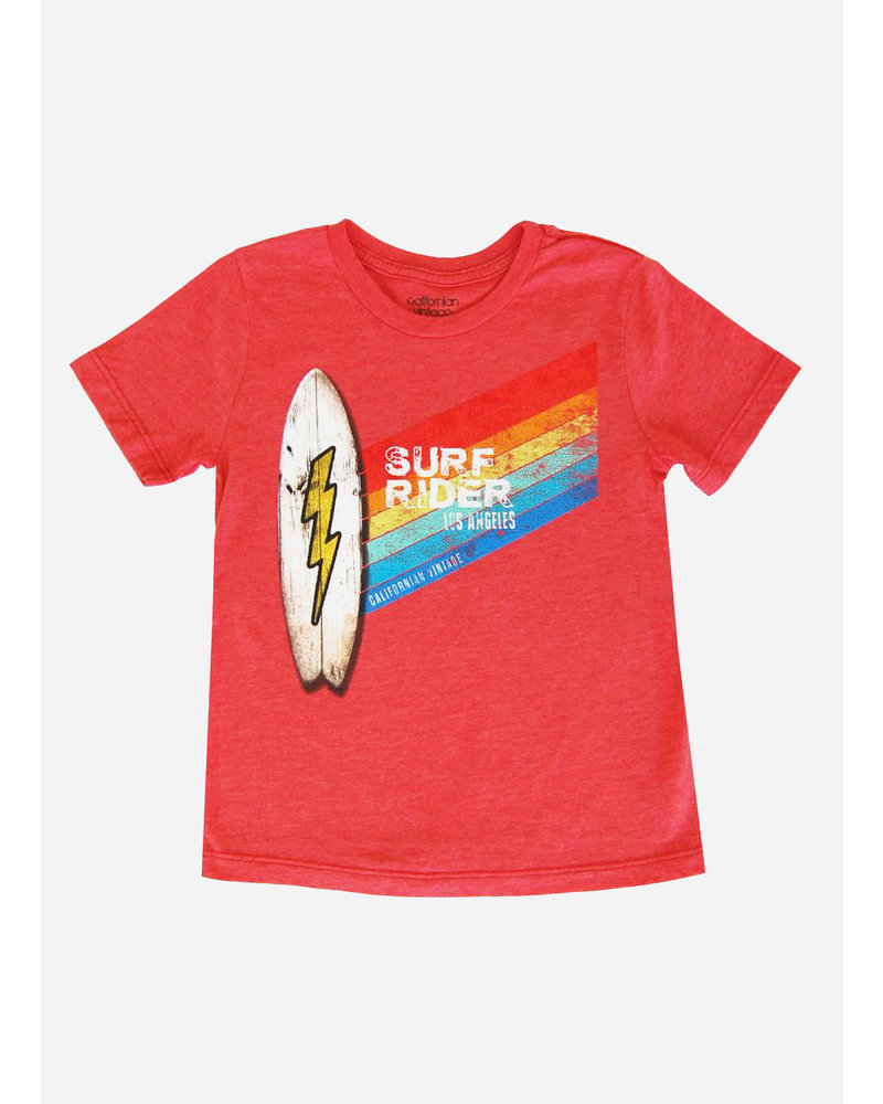 Californian Vintage shirt surfrider red